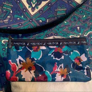 nautica make up bag